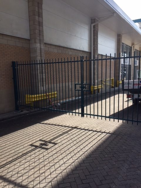 Commercial Steel Access Gates